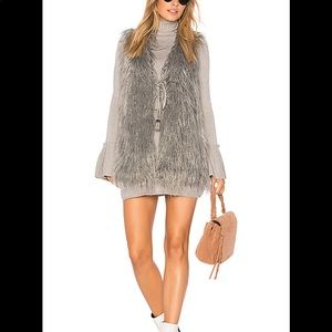 Show me your Mumu faux fur Vest